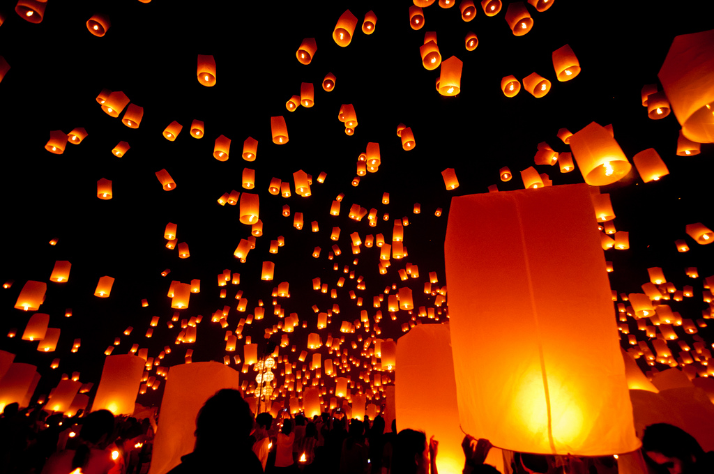 Lanterns of light