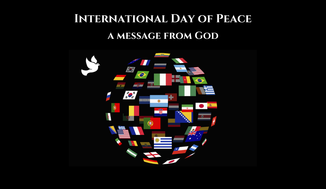 International Day of Peace – a message from God